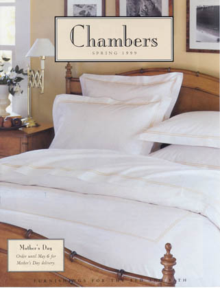 Cover of Chambers catalog,<br> a Williams-Sonoma Catalog